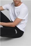 Black Logo Sweat Pants