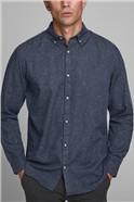 Navy Button Down Shirt
