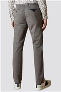 Grey Slim Fit Chino Trouser