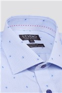 Stvdio Check Paisley Dobby Formal Shirt