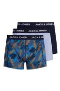 JACK & JONES Multi 3 Pack Palm Boxers