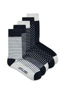 JACK & JONES Light Grey Socks Five Pack