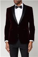 Merlot Velvet Dresswear Jacket