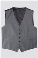 Mid Grey Tonic Suit Waistcoat