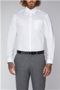 White Plain Oxford Weave Shirt