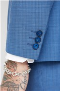 Blue Puppytooth Suit