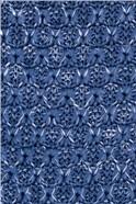 Blue Melange Knitted Tie