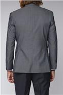 Silver Grey Twill Suit Jacket