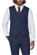 Blue Semi Plain Suit