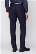 Esteem Navy Sharkskin Suit