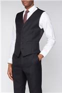 Esteem Charcoal Sharkskin Suit