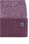 Birdseye Knit Bobble Beanie