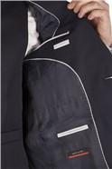 Navy Twill Regular Fit Waistcoat