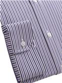Purple Tonal Stripe Shirt