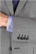 Light Grey Birdseye Regular Fit Suit