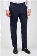 Ink Blue Sharkskin Premier Trousers