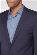 Navy Plain Premier Fit Suit