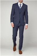 Contemporary Airforce Check Suit