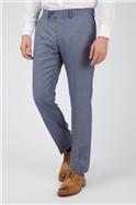 Light Blue Regular Fit Trousers