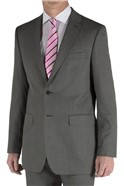 Grey Micro Design Regular Fit Suit