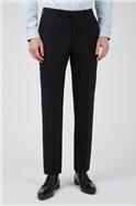 Black Panama Slim Waistcoat