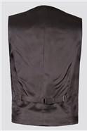 Black White Puppytooth Waistcoat