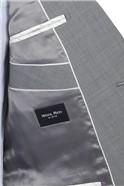 Stvdio Light Grey Peal Lapel Tailored Fit Suit