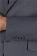 Blue Pindot Regular Fit Suit