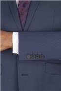 Navy Stripe Tailored Fit Suit
