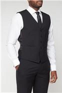 Black Panama Core Waistcoat