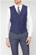 Blue Panama Core Waistcoat