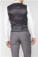 Charcoal Panama Core Waistcoat