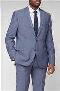 Petrol Blue Tonic Camden Suit Jacket