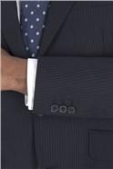 Navy Alt Stripe Regular Fit Suit