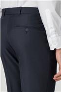 Navy Pick & Pick Suit Trouser