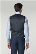 Bright Blue Panama Tailored Fit Suit