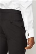 Black Peak Lapel Dinner Suit Jacket