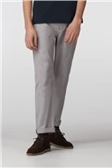 Grey Stretch Chino