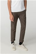 Khaki Skinny Stretch Chino