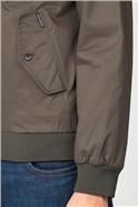 Dark Green Harrington Jacket