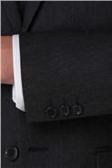 Dark Grey Birdseye Tailored Fit Trouser