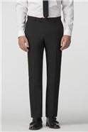 Erfurt Black Printed Slim Fit Shawl Collar Jacket