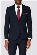 Branded Navy Skinny Fit Suit