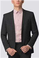 Branded Charcoal Skinny Fit Suit