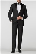 Satin Shawl Lapel Regular Fit Dresswear Jacket