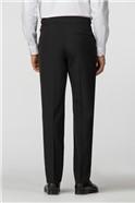Black Regular Fit Dresswear Trousers