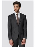 Charcoal Flannel Tailored Fit Jacket