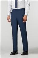 Blue Panama Athletic Fit Trouser