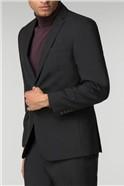 Black Panama Athletic Fit Suit