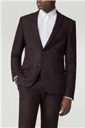 Merlot Speckle Slim Fit Suit